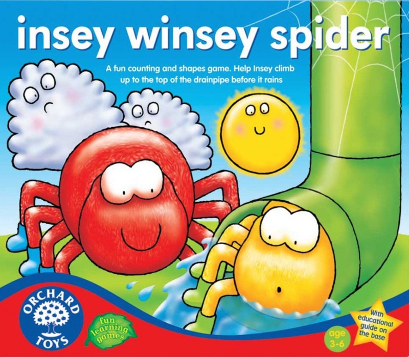 Orchard Toys: Insey Winsey Spider Game image