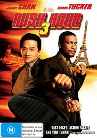 Rush Hour 3 (2 Disc) on DVD image