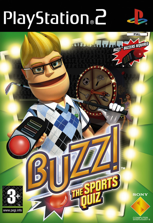 Buzz! Sports + Buzzers for PlayStation 2