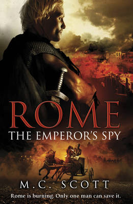 The Fire of Rome by Manda Scott image