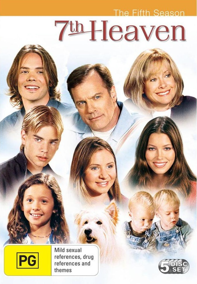 7th Heaven - Complete Season 5 (5 Disc Set) on DVD image