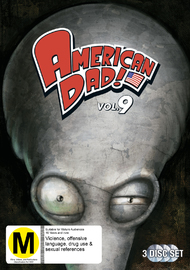 American Dad - Season 9 on DVD