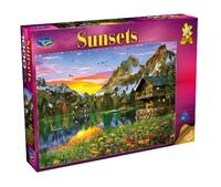 Holdson: 1000 Piece Puzzle - Sunsets S2 (Alpine Sunset)