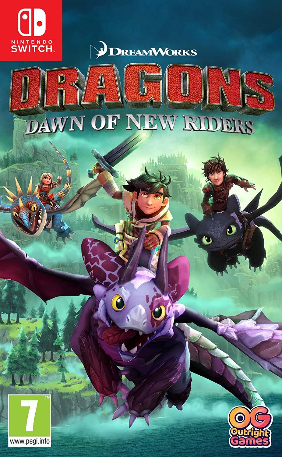 Dragons Dawn of New Riders for Switch image