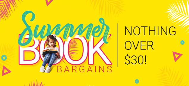 Bargain Books - Nothing over $30!