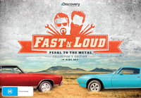 Fast N' Loud: Pedal To The Metal Collector's Set on DVD