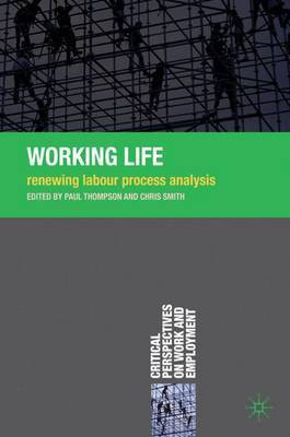 Working Life by Paul Thompson