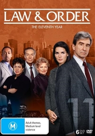 Law and Order - The Eleventh Year (6 Disc Set) on DVD