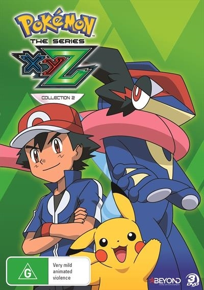 Pokemon The Series: XYZ - Collection 2 on DVD