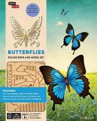 Incredibuilds: Butterflies Deluxe Book and Model Set by Ruth Tepper Brown