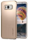 Spigen Galaxy S8 Thin Fit Case Gold Maple