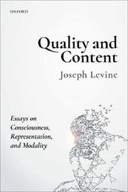 Quality and Content by Joseph Levine