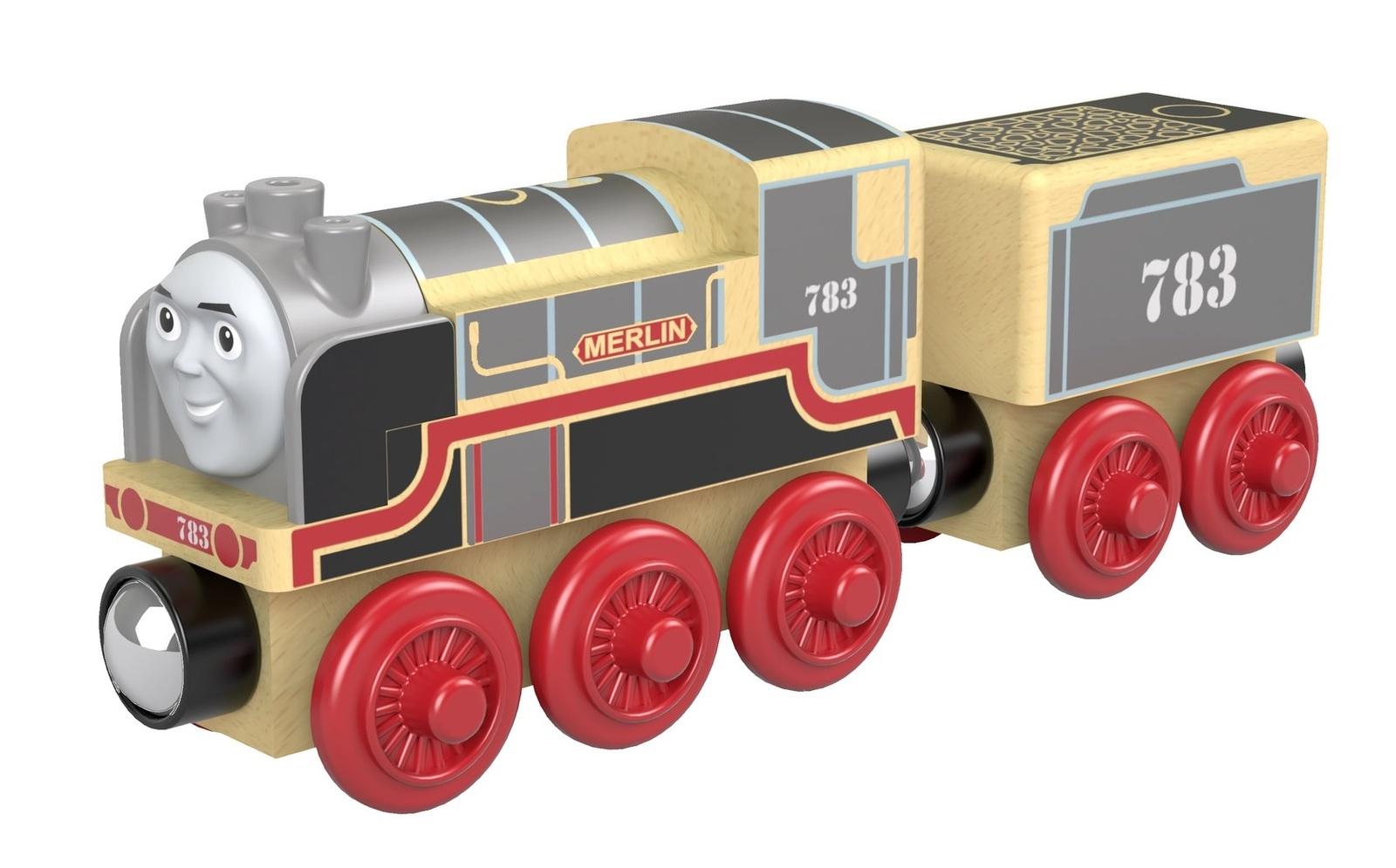 Thomas & Friends: Wooden Railway Large - Merlin image