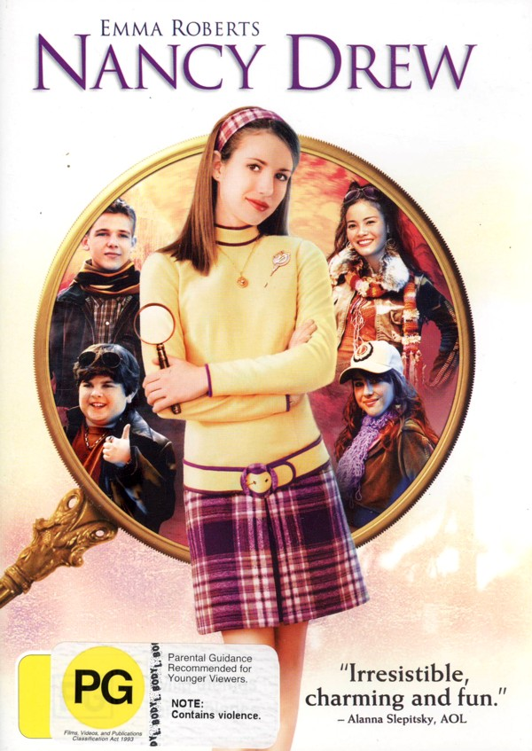 Nancy Drew on DVD image