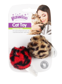 Pawise: Leopard Catnip Toy - Ball/2pack