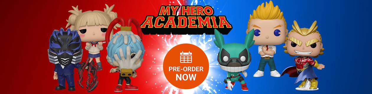 My Hero Academia - Pre-Order Now!