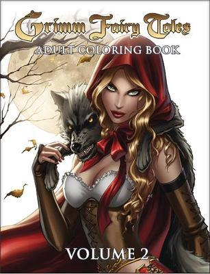 Grimm Fairy Tales Adult Coloring Book Volume 2 by Zenescope