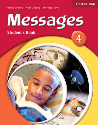 Messages 4 Student's Book by Diana Goodey image