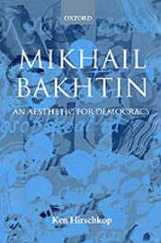 Mikhail Bakhtin by Ken Hirschkop image