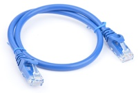 8ware: Cat 6a UTP Ethernet Cable Snagless - 0.5m (Blue)
