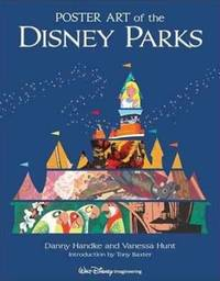 Poster Art Of The Disney Parks by Daniel Handke