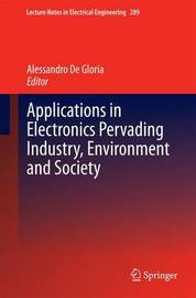 Applications in Electronics Pervading Industry, Environment and Society