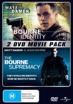 Bourne Identity / Bourne Supremacy on DVD