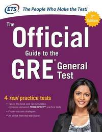 The Official Guide to the GRE General Test, Third Edition by Educational Testing Service image