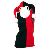 DC Comics: Harley Quinn - Hooded Tank With Ears (Medium)