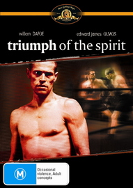 Triumph Of The Spirit on DVD image