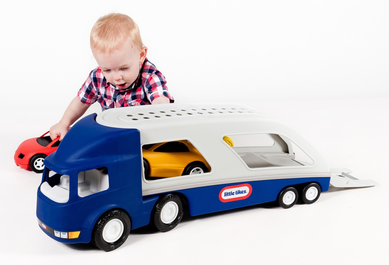 Little Tikes: Big Car Carrier - (Blue) image