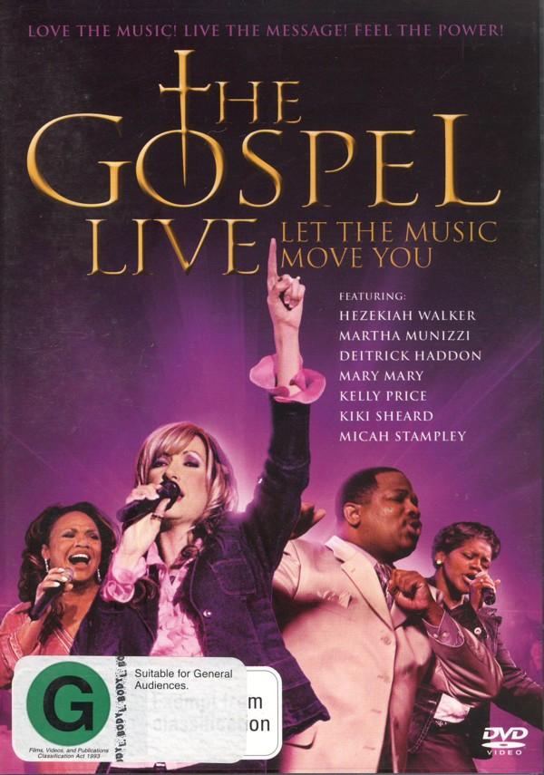 The Gospel Live on DVD image