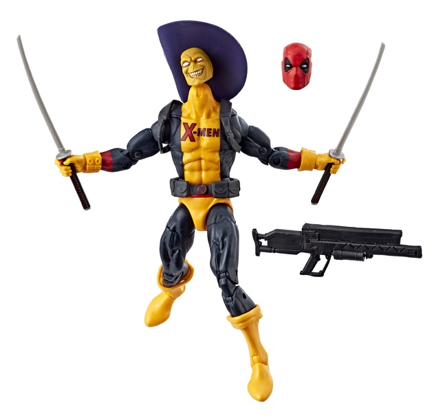 "Marvel Legends: Deadpool (X-Men Uniform) - 6"" Action Figure"