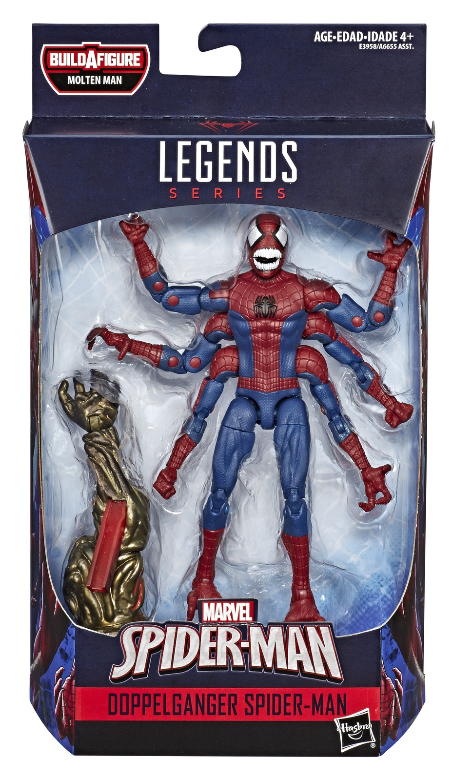 "Marvel Legends: Doppelganger Spider-Man - 6"" Action Figure image"