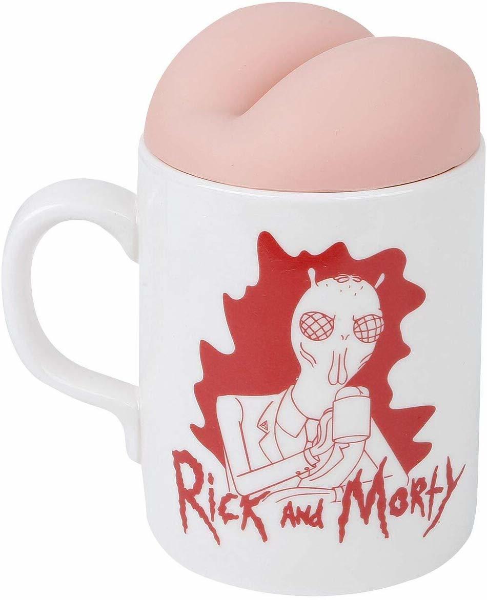 Rick & Morty: Shoney's Butt Mug - Novelty Mug image