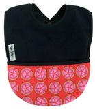 Silly Billyz Fleece Pocket Bib (Navy Melon)