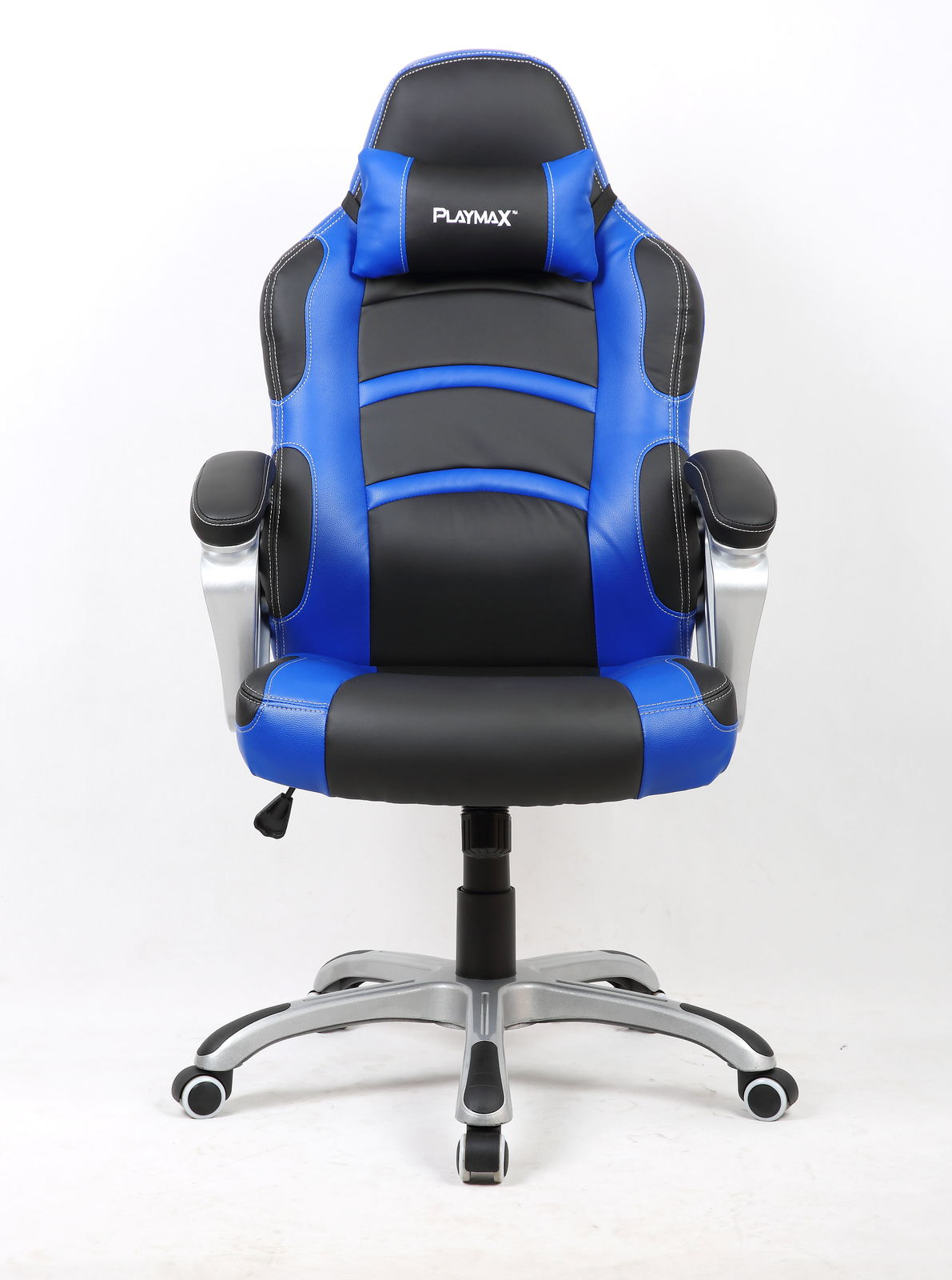 Banana game chair -  Playmax Gaming Chair Blue And Black For Image