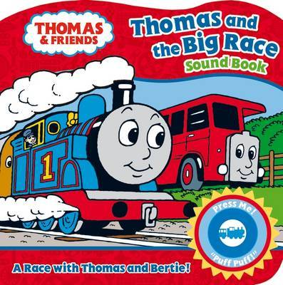 Thomas & Friends Thomas and the Big Race Sound Book image