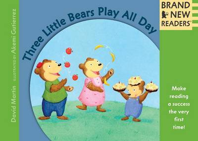 Three Little Bears Play All Day by David Martin