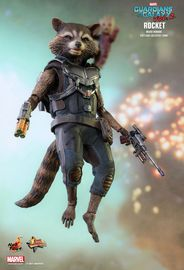 "Guardians of the Galaxy: Vol. 2 - Rocket Deluxe 6"" Scale Action Figure"