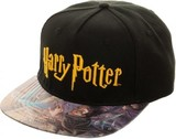 Harry Potter: Printed PVC Bill- Snapback Cap
