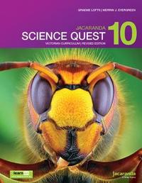 Jacaranda Science Quest 10 for Victoria Australian Curriculum 1e (revised) learnON & print by Graeme Lofts