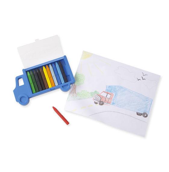 Melissa & Doug: Truck Crayon Set