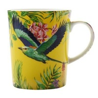 Maxwell & Williams - Cashmere Birds of Paradise Mug Yellow (330ml)