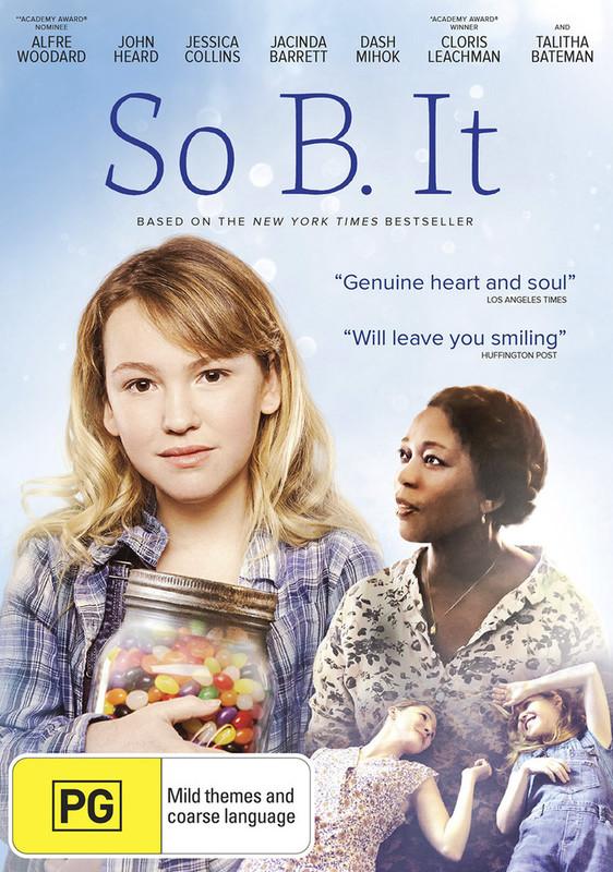 So B. It on DVD