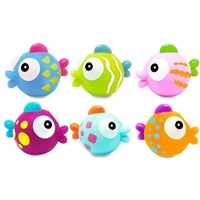 Escabbo: Tropical Fishes Squirters - (Set of 6)