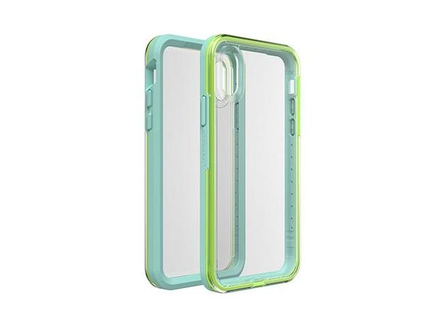 Lifeproof: Slam Case for iPhone X / Xs - Sea Glass Clear Lime