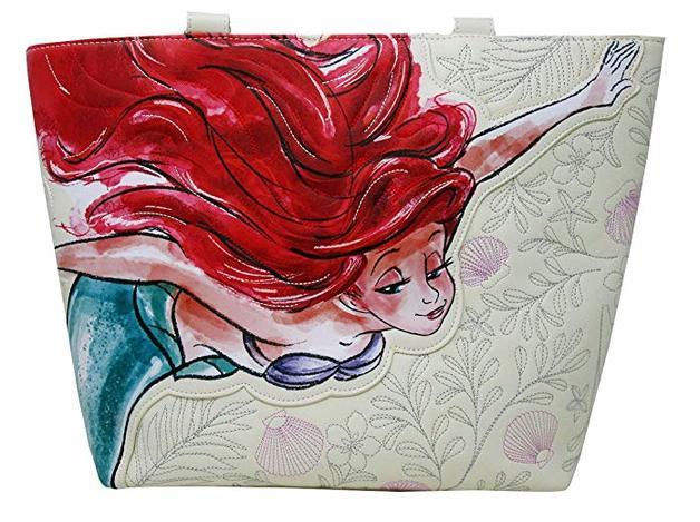 Loungefly: Little Mermaid - Ariel Sketch Print Tote Bag