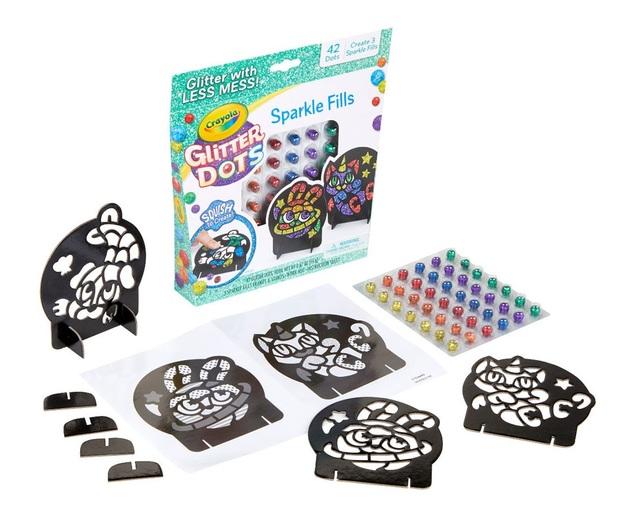 Crayola: Glitter Dots - Sparkle Fills Craft Kit