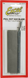 "Excel Medium Pull Out Razor Saw Blade (1 1/2""x5"")"